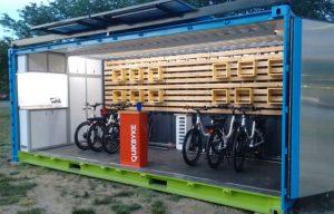 کانکس ایستگاه دوچرخه