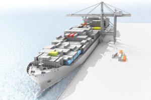 کشتی کانتینری